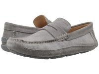 Geox M Melbourne 1 Anthracite Men's Slip On Shoes Pewter