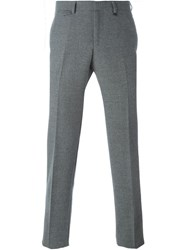 Z Zegna Classic Tailored Trousers Grey