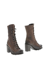 O.X.S. Ankle Boots Black