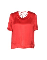 Liviana Conti Blouses Red