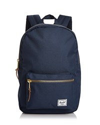 Herschel Supply Co. Settlement Mid Volume Backpack Navy Gold