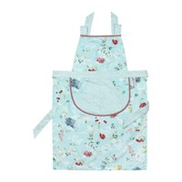 Pip Studio Hummingbirds Apron Blue