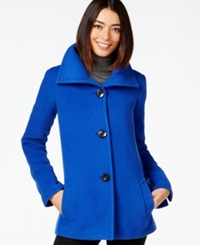 Jm Collection Point Collar Button Front Jacket Only At Macy's Bright Blue