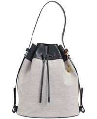Skagen Large Mette Bucket Bag Ink