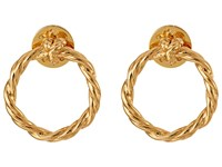 Tory Burch Twisted Knot Earrings Gold Earring