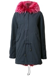 Mr And Mrs Italy Night Parka Blue