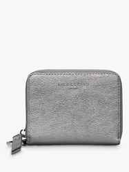 Liebeskind Berlin Boxed Conny Leather Zip Around Purse Silver