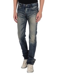 Johnbull Denim Pants Blue