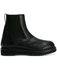 Rick Owens Creeper Elastic Boots Women Calf Leather Leather Rubber 36 Black