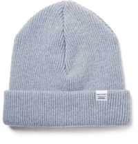 Norse Projects Ribbed Lambswool Beanie Light Blue