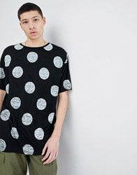 Dr. Denim Dr Yvo T Shirt Black Dot