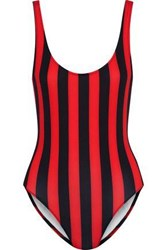 Solid And Striped The Anne Marie Swimsuit Red