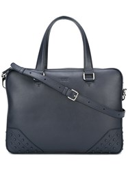 Tod's Classic Briefcase Blue