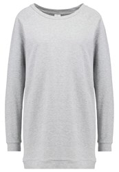 Jdylexus Sweatshirt Light Grey Melange Mottled Light Grey