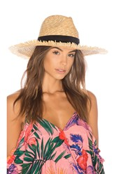L Space Del Rey Fringe Hat Tan