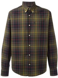 Barbour Button Down Herbert Shirt Green