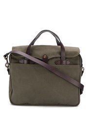 Filson Rugged Twill Briefcase Green