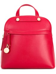 Furla Paiper Backpack Red