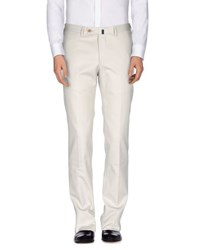Vigano' Trousers Casual Trousers Men Light Grey