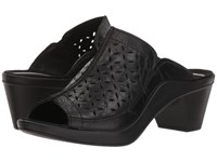 Romika Mokassetta 326 Black Clog Mule Shoes