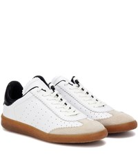Isabel Marant Etoile Bryce Leather Sneakers White