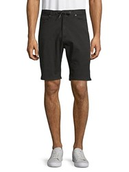 Civil Society Tailored Stretch Cotton Shorts Grey