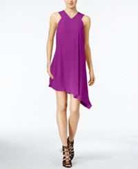 Rachel Roy Asymmetrical Shift Dress Only At Macy's Orchid