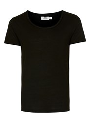 Topman Black Scoop Neck T Shirt