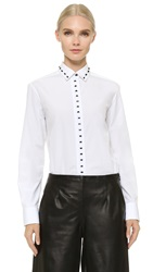 Maiyet Classic Button Down Shirt White