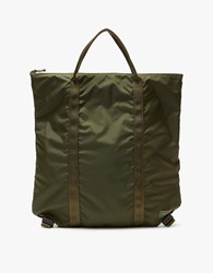 Porter Yoshida And Co. Flex 2Way Tote Bag In Olive