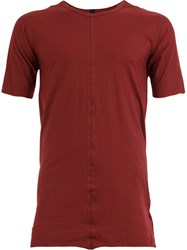 Isaac Sellam Experience Distressed T Shirt Red