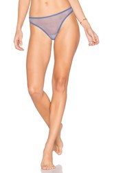 Only Hearts Club Whisper Thong Blue