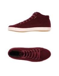 Pointer Footwear High Tops And Trainers Women Maroon