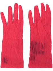 Gucci Lace Gloves Pink