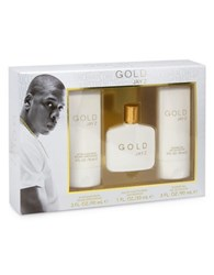 Jay Z Gold Three Piece Gift Set No Color