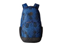 Hurley Renegade Printed Backpack Star Blue Bright Crimson Black Backpack Bags