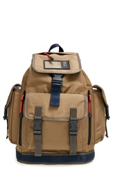 Marc By Marc Jacobs 'Walter' Nylon Backpack Dark Moss Brown