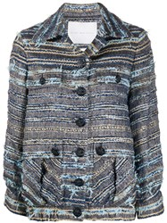Giada Benincasa Tweed Flap Pocket Jacket 60