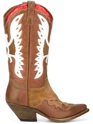 Buttero Western Boots Brown