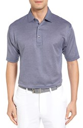 Bobby Jones Men's Ponce Pique Cotton Polo Summer Navy