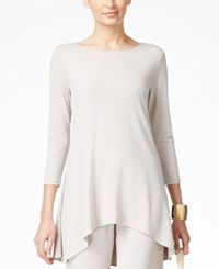 Alfani High Low Jersey Tunic Top Only At Macy's French Stone