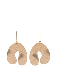 Stella Mccartney Abstract Shaped Earrings Light Pink