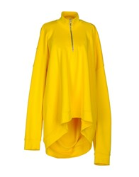 Marques ' Almeida Sweatshirts Yellow