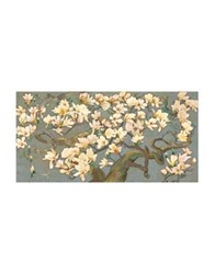Marmont Hill Magnolia Branches Iv Painting Print On Wrapped Canvas Brown Multi