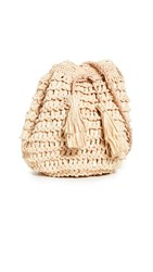 Mar Y Sol Olympia Bucket Bag Natural
