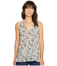 Sanctuary Romy Shell Top Spring Meadow Women's Clothing Black