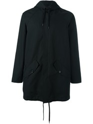A Kind Of Guise Zipped Hooded Jacket Black