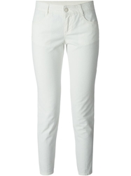 Stella Mccartney 'Skinny Ankle Glazer' Jeans White