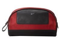 Nike Leather Tech Twill Travel Kit Red Travel Pouch