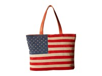 Scully Rockin America Tote Bag Multi Tote Handbags